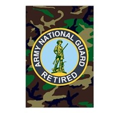 3-ARNG-Retired-Journal-Wo Postcards (Package of 8)