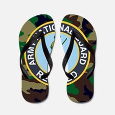 ARNG-Retired-Mousepad-Woodland Flip Flops