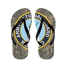ARNG-Retired-Mousepad-ACU Flip Flops