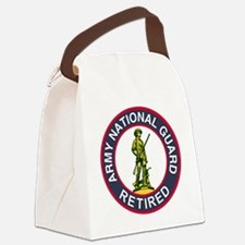 ARNG-Retired-Red-Blue.gif Canvas Lunch Bag