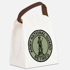 ARNG-Retired-Black-Green.gif Canvas Lunch Bag