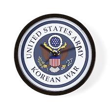 ARMY-Korean-War-Veteran-Bonnie-3.gif Wall Clock