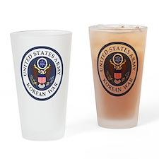 ARMY-Korean-War-Veteran-Bonnie-3.gi Drinking Glass