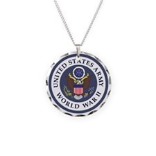 ARMY-WWII-Veteran-Bonnie-3.g Necklace Circle Charm