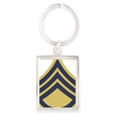 Army-SSG-1948-Dark-Shirt Portrait Keychain