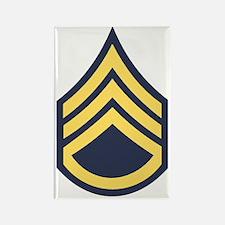 Army-SSG-Blue-Dark-Shirt Rectangle Magnet