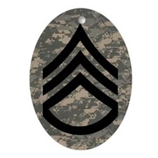 Army-SSG-Subdued-Magnet-3 Oval Ornament