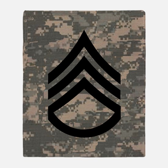 Army-SSG-Subdued-Tile-ACU Throw Blanket