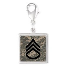 Army-SSG-Subdued-Tile-ACU Silver Square Charm