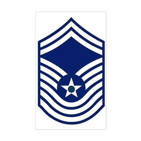 3-USAF-CMSGT-Old-Bonnie.gif Sticker (Rectangle)