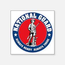 "ARNG-Logo-Vehicle.gif Square Sticker 3"" x 3"""