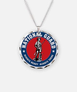 ARNG-Logo-Vehicle.gif Necklace Circle Charm