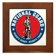 ARNG-Logo-Vehicle.gif Framed Tile