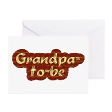 Grandpa-to-be Greeting Cards (Pk of 10)