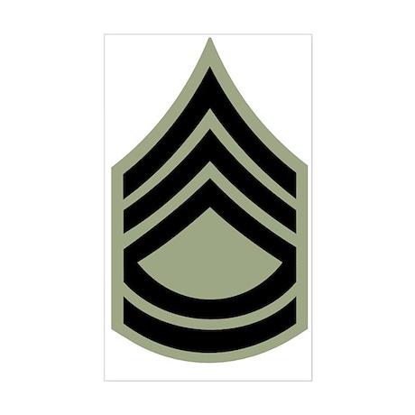 Army-SFC-Vietnam-Era-X.gif Sticker (Rectangle)