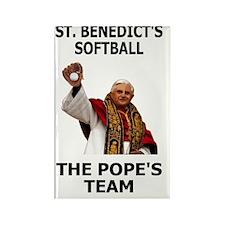 Saint-Benedict-Banner Rectangle Magnet