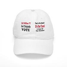 Let-Duluth-Vote-Mug Baseball Cap