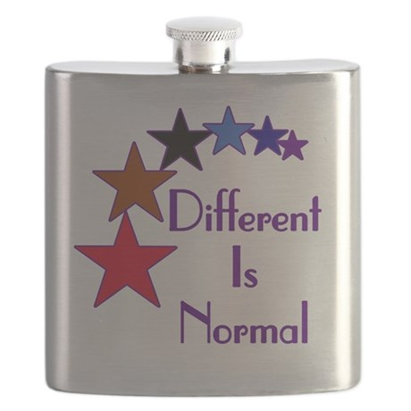 Different-Is-Normal-Stars-For-Blue-2 Flask