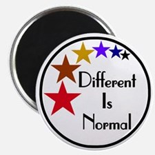 Different-Is-Normal-Stars-3-For-Pink Magnet