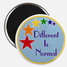 Different-Is-Normal-Stars-Blue-Dark Magnet