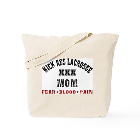 Kick Ass Lacrosse MOM Tote Bag
