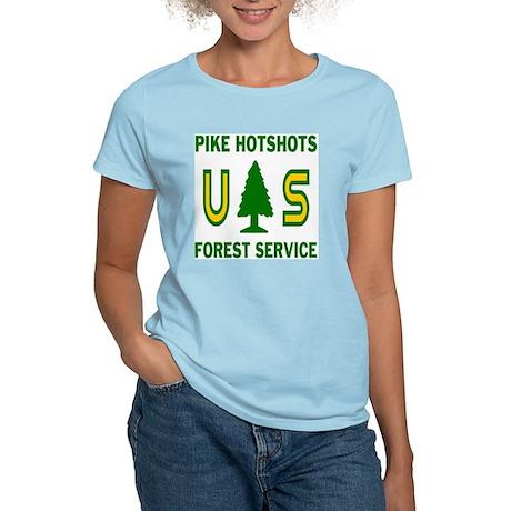 Pike-Hotshots-Shirtback Women's Light T-Shirt