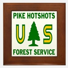 Pike-Hotshots-Shirtback Framed Tile