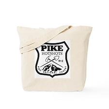 Pike-Hotshots-Black-White Tote Bag