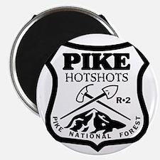 Pike-Hotshots-Black-White Magnet