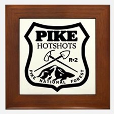Pike-Hotshots-Black-White Framed Tile
