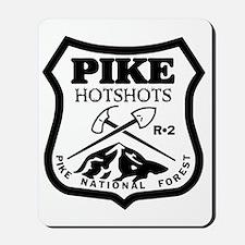 Pike-Hotshots-Black-White Mousepad