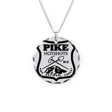 Pike-Hotshots-Black-White Necklace