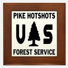 Pike-Hotshots-Shirtback-Black Framed Tile