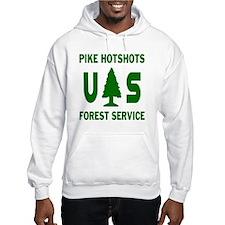 Pike-Hotshots-Shirtback-Green Hoodie