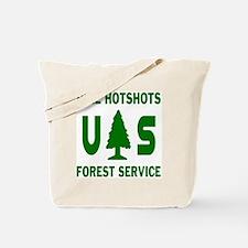 Pike-Hotshots-Shirtback-Green Tote Bag
