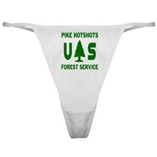 Pike-Hotshots-Shirtback-Green Classic Thong