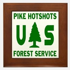 Pike-Hotshots-Shirtback-Green Framed Tile