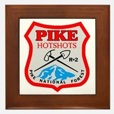 Pike-Hotshots-Dark-Shirt-PNG Framed Tile