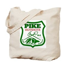 Pike-Hotshots-Green-Red Tote Bag