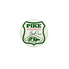 Pike-Hotshots-Green-Red Mini Button