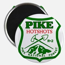 Pike-Hotshots-Green-Red Magnet