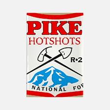 2-Pike-Hotshots-Sticker-2 Rectangle Magnet