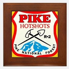Pike-Hotshots-Sticker-4 Framed Tile