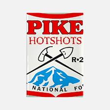 Pike-Hotshots-Sticker-3 Rectangle Magnet
