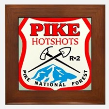 Pike-Hotshots-Sticker-3 Framed Tile