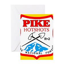 4-Pike-Hotshots-Button Greeting Card
