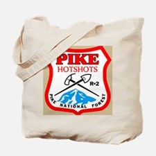 Pike-Hotshots-Button-4 Tote Bag