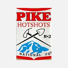 Pike-Hotshots-Button-4 Rectangle Magnet