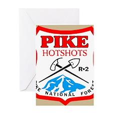 Pike-Hotshots-Button-4 Greeting Card