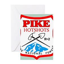 Pike-Hotshots-Button-2 Greeting Card